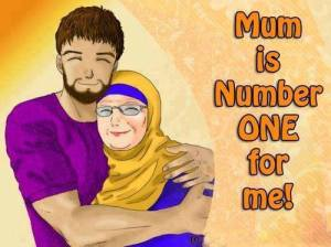 MUM IS NUMBER ONE