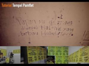 tutorial tempel pamflet
